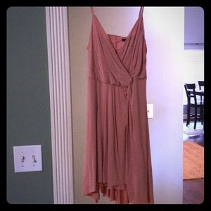 Forever 21 strapless dress size L